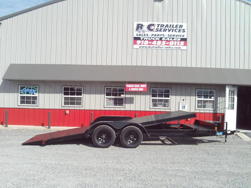 PRICED AT COST!!   2019 Top Hat Trailers 83X20 TILT Car / Racing Trailer FOR SALE @ COST
