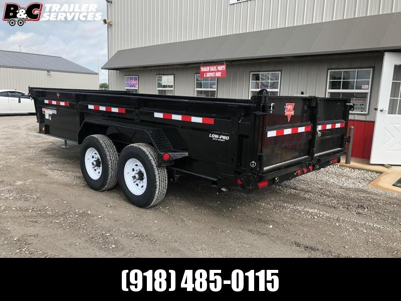 2020 PJ Trailers 16X83 LOW PRO DUMP Dump Trailer