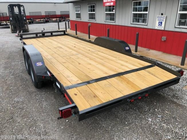 "New 2019 Longhorn Trailers 83""X20' Wood Car Hauler 3500# Axles"