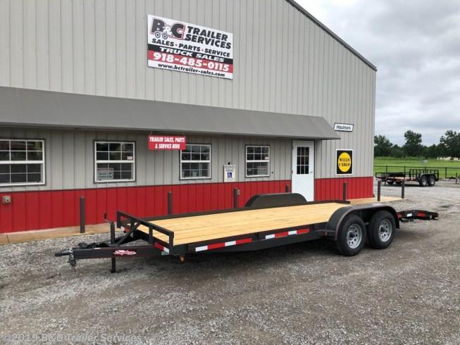 "New 2019 Longhorn Trailers 83""X20' Wood Car Hauler 3500# Axles"