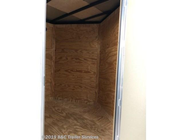 New 2019 Top Hat 7X16 ENCLOSED CARGO TRAILER 3500 AXLES