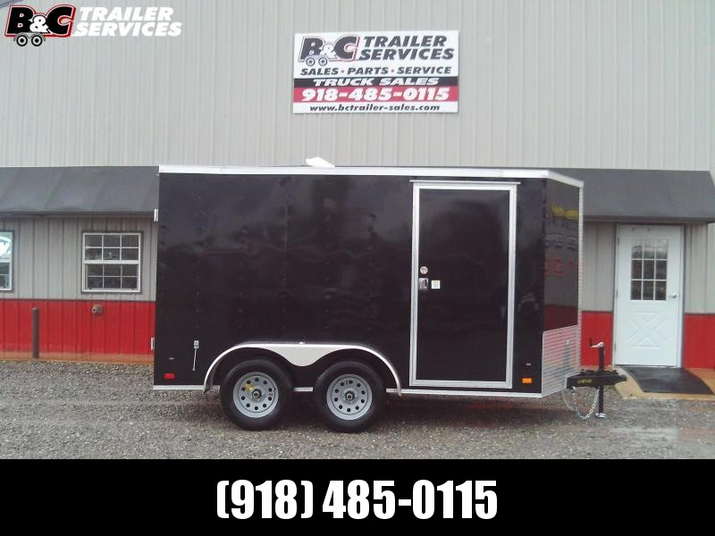 2020 Covered Wagon Trailers 6x14 TA Enclosed Cargo Trailer W/ Barn Doors