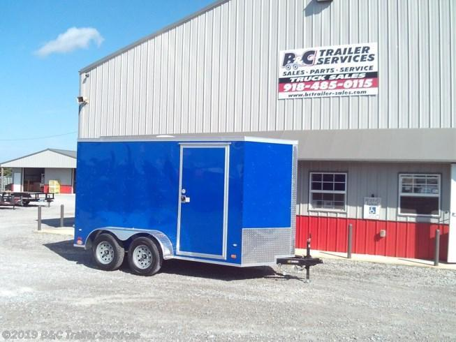 New 2019 Covered Wagon 6X14 ENCLOSED CARGO TRAILER 3500 AXLES