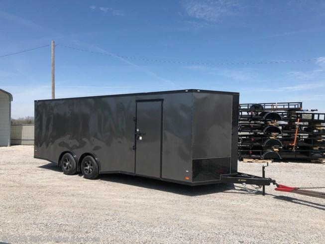 New 2019 Covered Wagon 8.5X24 ENCLOSED CARGO TRAILER 5200 AXLES