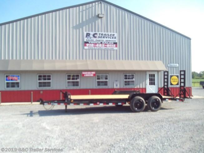New 2020 PJ Trailers 24' - 6 in. Channel Equipment Trailer 7K Axles