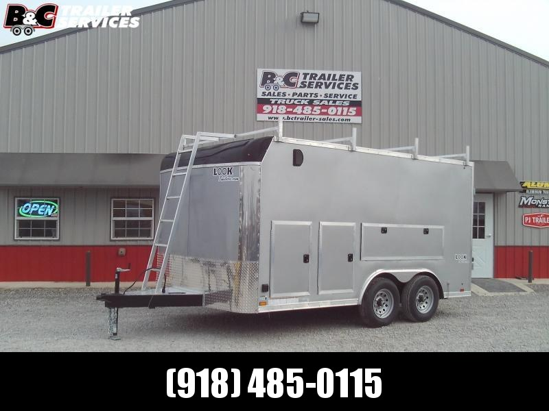 2021 Look Trailers 8.5X14 CONTRACTORS TRAILER Enclosed Cargo Trailer
