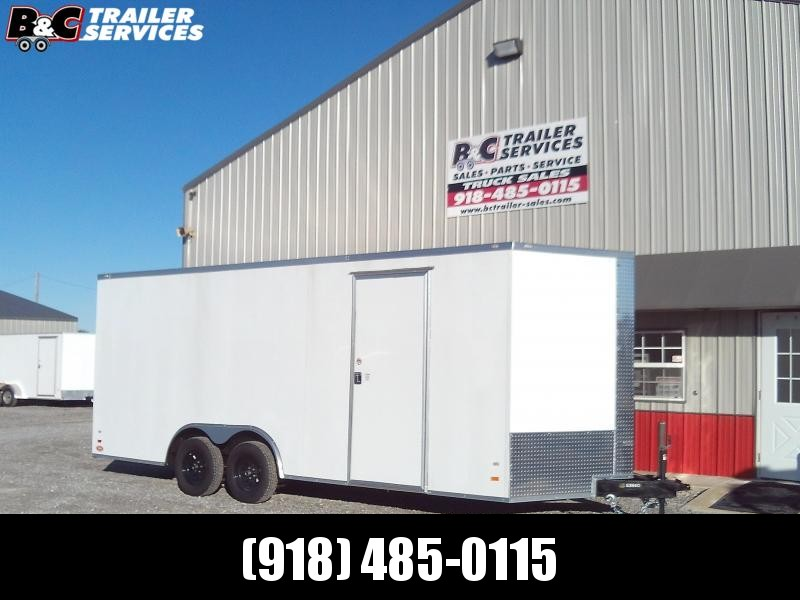 ON SALE (SAVE $400 AT THIS PRICE) 2020 Covered Wagon Trailers 8.5X20 Enclosed Cargo Trailer