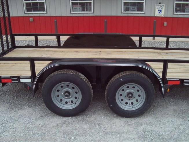 "New 2019 Longhorn Trailers 77""X16' Tandem Axle Utility Trailer 3500# Axles"