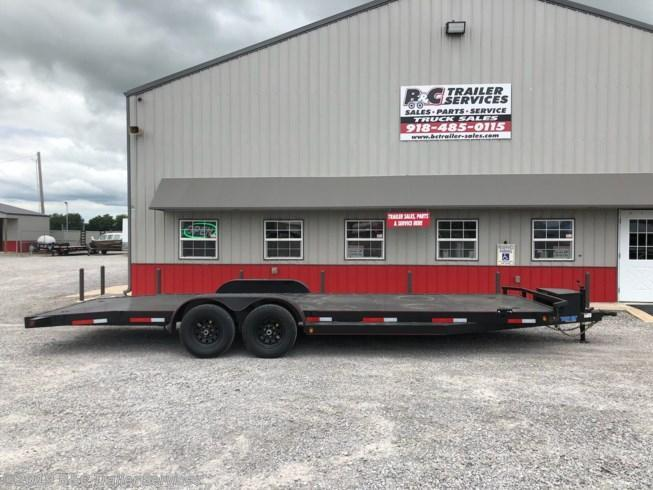 "New 2019 Top Hat 83""X24' All Steel Car Hauler 5200# Axles"