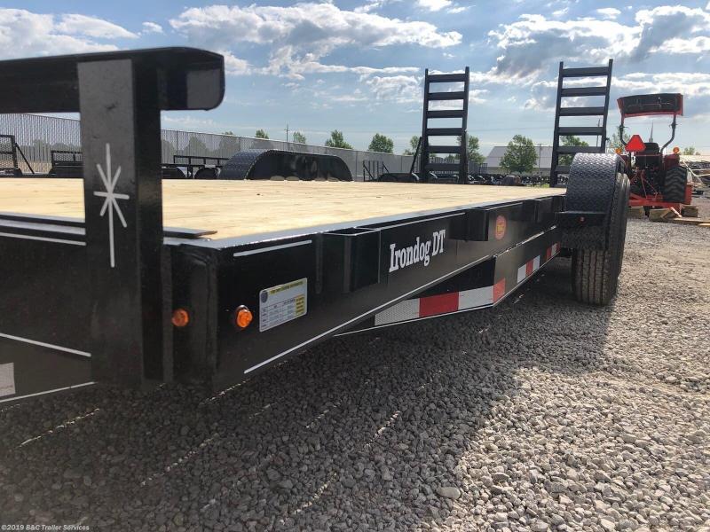 "New 2019 BC Bulldog 83""X20' Equipment Trailer 7000# Axles"