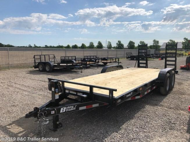 "New 2019 BC Bulldog 83""X20' Equipment Trailer 7000# Axles"