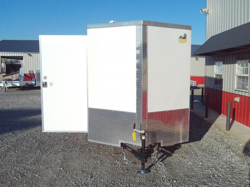 2020 Covered Wagon Trailers 6X12 Single Axle Enclosed Cargo Trailer