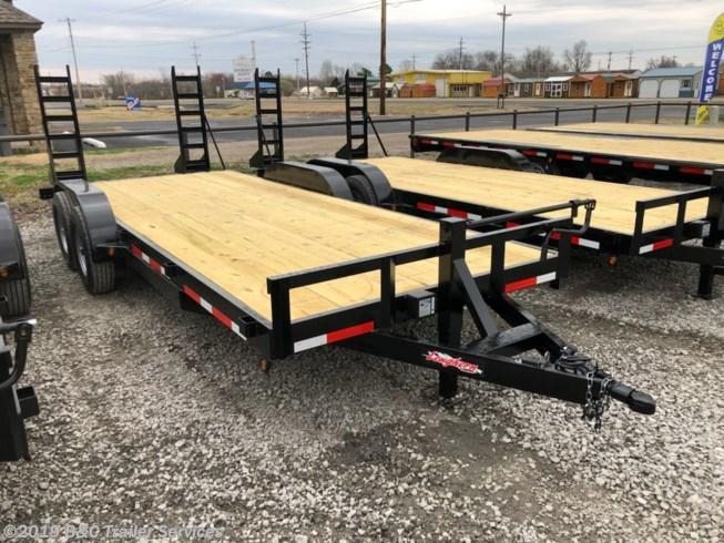 "New 2019 Longhorn Trailers 83""X20' Equipment / Car Hauler 7000# Axles"