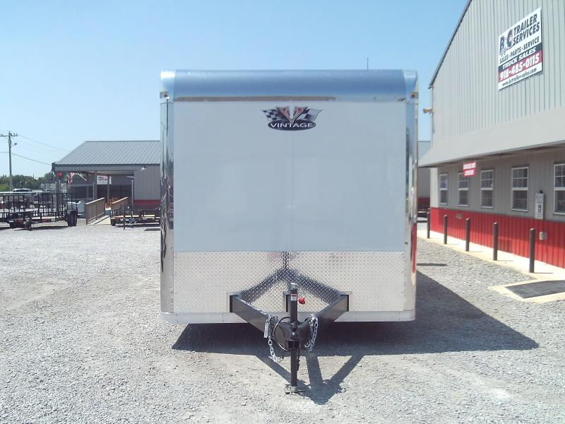 SAVE $3500.00 AT THIS PRICE 2020 Vintage Trailers Outlaw 8.5X36 Triple 6000# Axles Car / Racing Trailer - ON SALE
