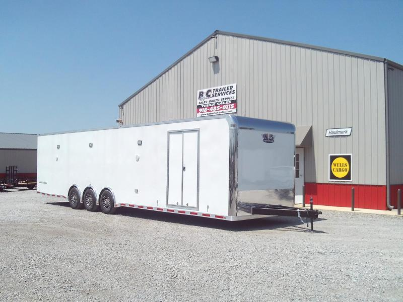 2019 Vintage Trailers Outlaw 8.5X36 Triple 5200# Axles Car / Racing Trailer - ON SALE