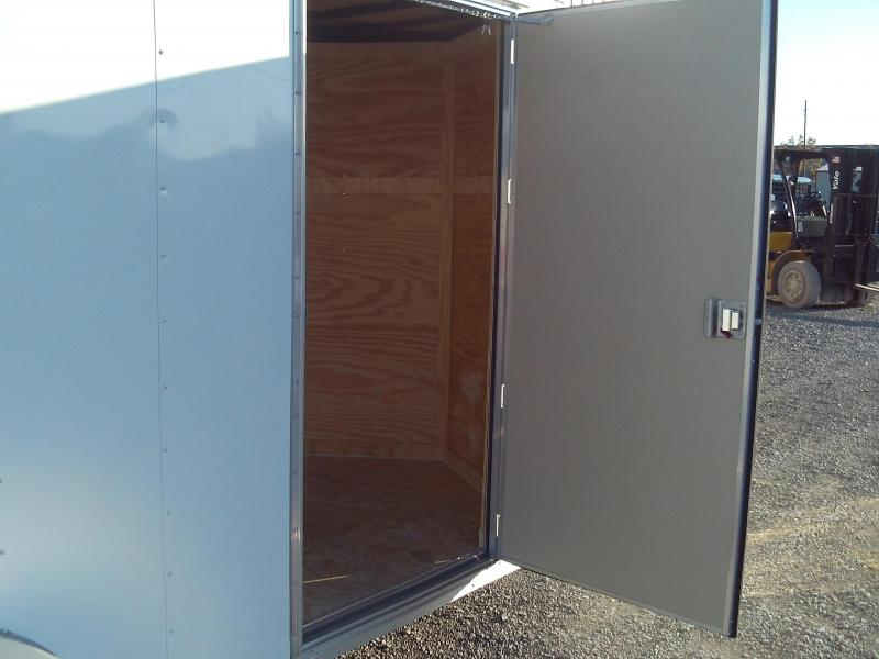 2019 Covered Wagon Trailers 6X14 SINGLE AXLE Enclosed Cargo Trailer