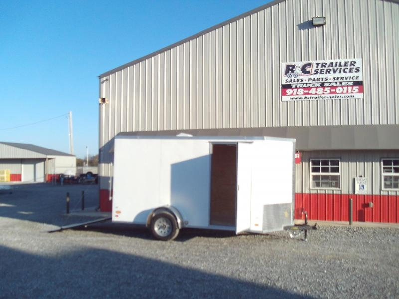 2020 Covered Wagon Trailers 6X14 SINGLE AXLE Enclosed Cargo Trailer
