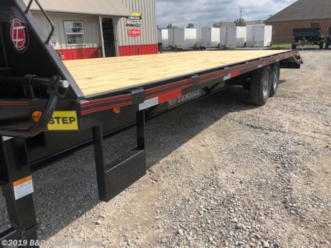 New 2020 Longhorn Trailers 8.5X20+5 Gooseneck Flatbed Trailer 7000# Axles