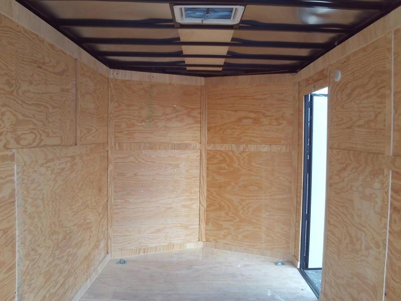 2020 Covered Wagon Trailers 7X16 7' INTERIOR HEIGHT Enclosed Cargo Trailer