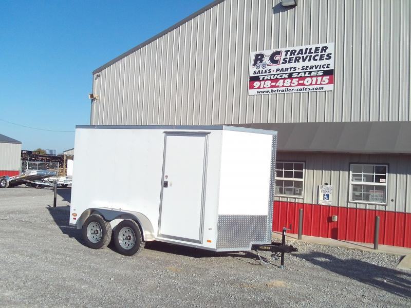 ON SALE! Covered Wagon 6X14 ENCLOSED CARGO TRAILER 3500 AXLES