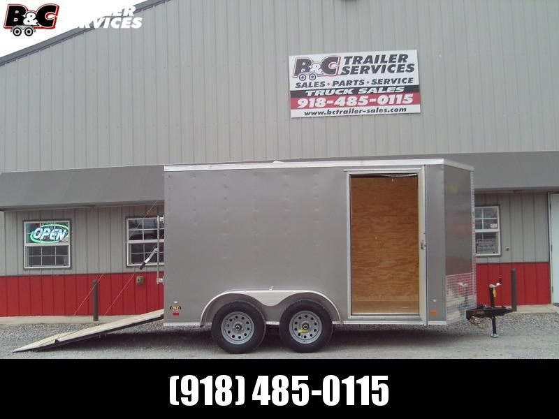 2020 Covered Wagon Trailers 6x14 Enclosed Cargo Trailer