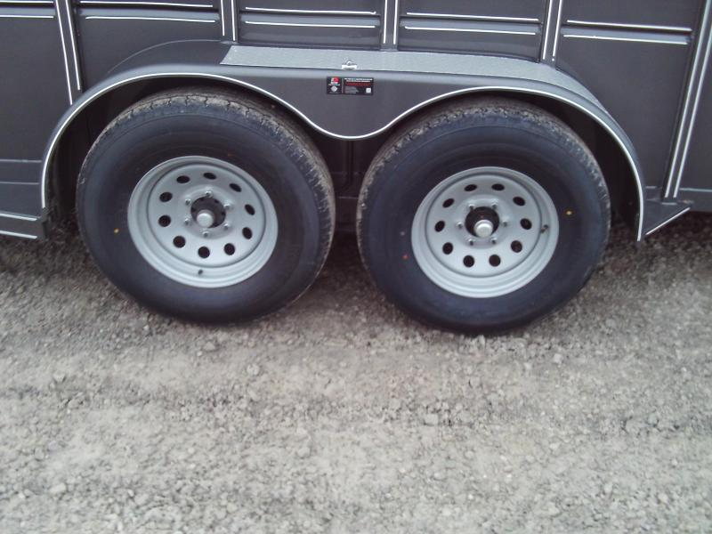 2020 Delta Manufacturing 16X6 500 COMBO Horse Trailer
