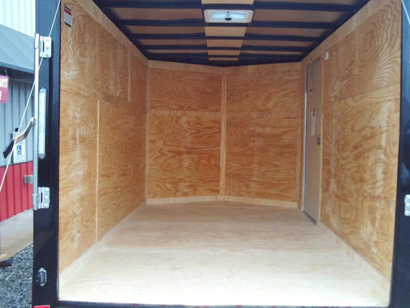 New 2020 Covered Wagon 7X14 ENCLOSED CARGO TRAILER 3500 AXLES