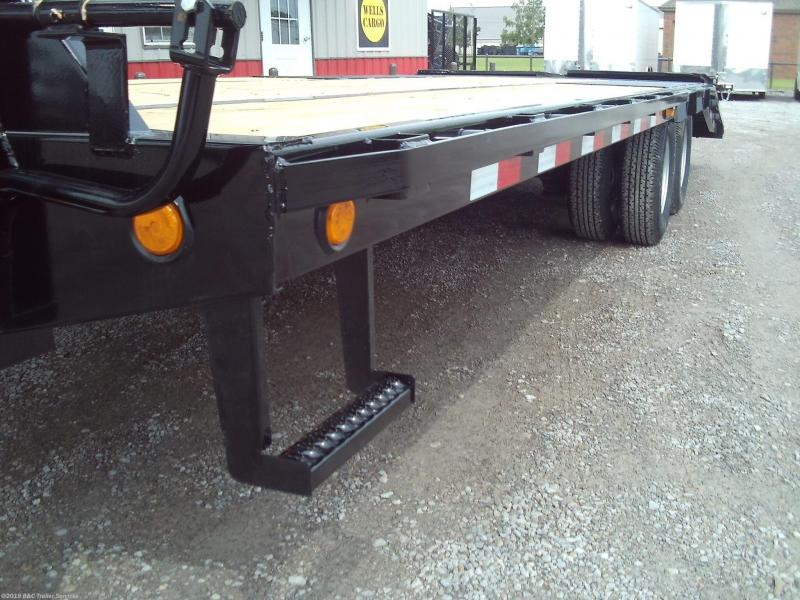 New 2020 PJ Trailers 25' Low Pro Flatbed w/Duals 10K Axles