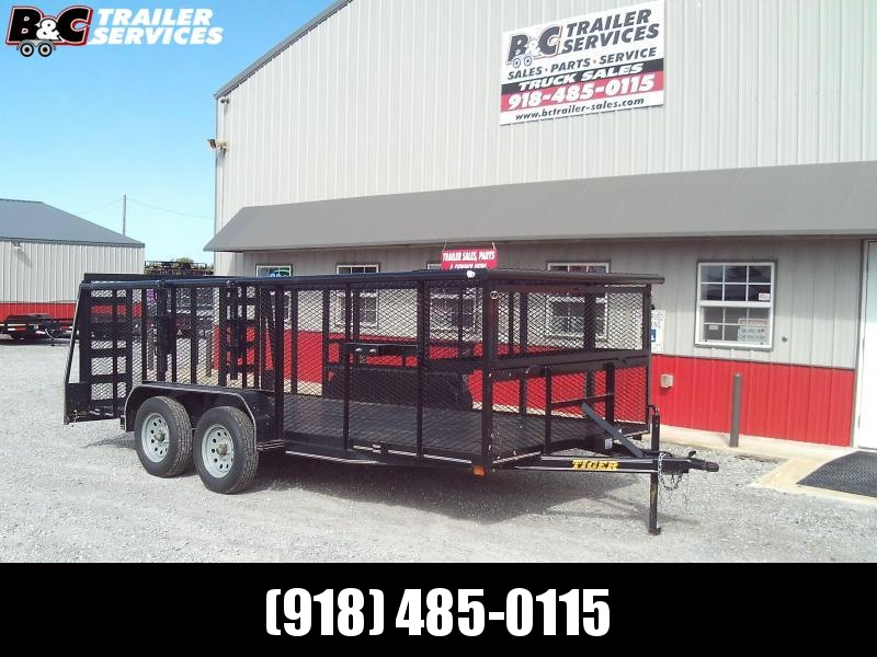 2019 Tiger 16X83 LANSCAPE Utility Trailer