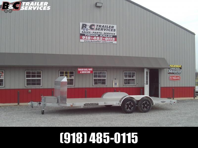 2020 Aluma 8218 CAR HAULER Car / Racing Trailer