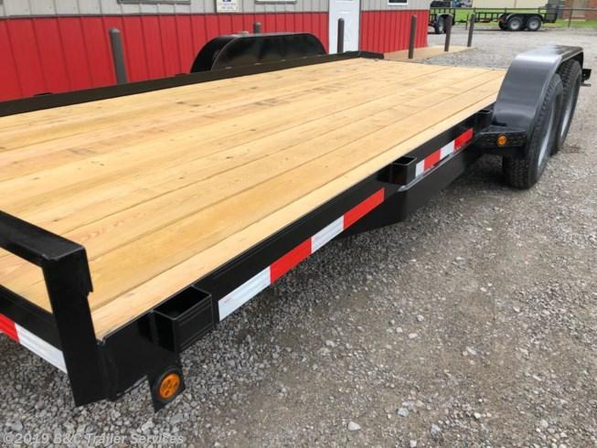 "New 2019 Longhorn Trailers 83""X18' Wood Car Hauler 3500# Axles"