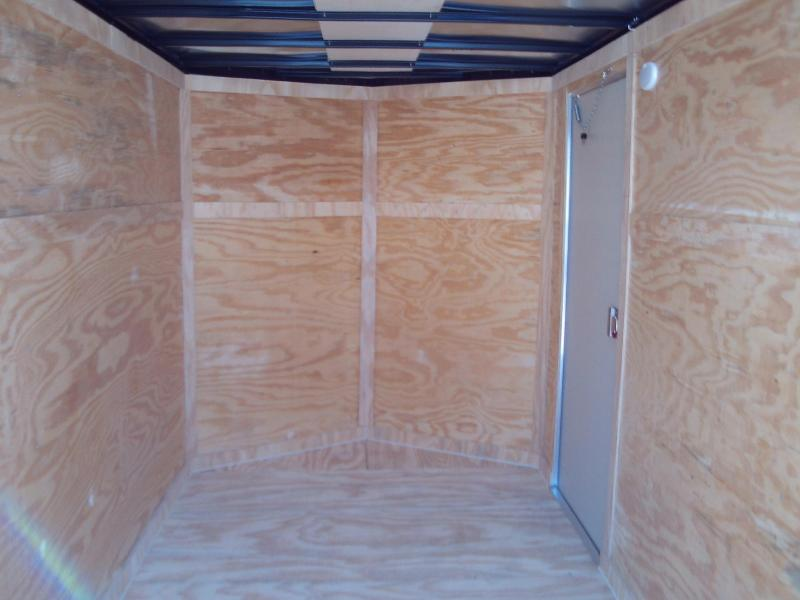 Covered Wagon Trailers 6X14 SINGLE AXLE Enclosed Cargo Trailer