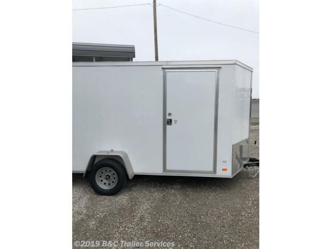 New 2019 Covered Wagon 6X14 ENCLOSED CARGO TRAILER 3500 AXLE