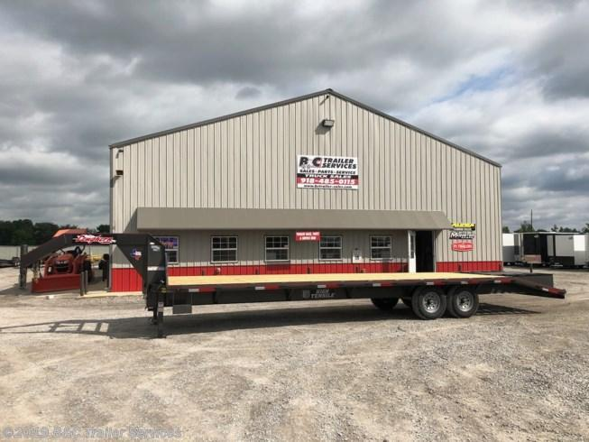 New 2019 Longhorn Trailers 8.5X25+5 Gooseneck Flatbed Trailer 7000# Axles