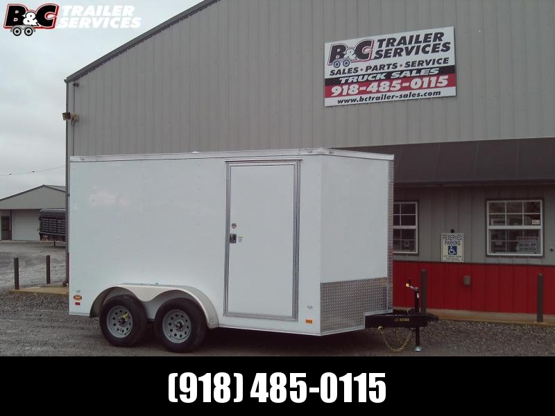 2020 Covered Wagon Trailers 7X14 Enclosed Cargo Trailer