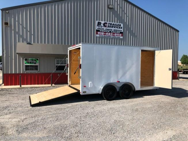 New 2020 Covered Wagon 7X16 ENCLOSED CARGO TRAILER 3500 AXLES