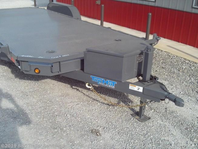 """New 2020 Top Hat 83""""X20' Steel Floor Car Hauler 5200# Axles"""