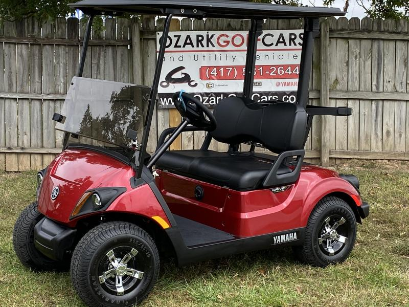 2020 YAMAHA DRIVE 2 AC 48 VOLT PTV-JASPER RED Golf Cart