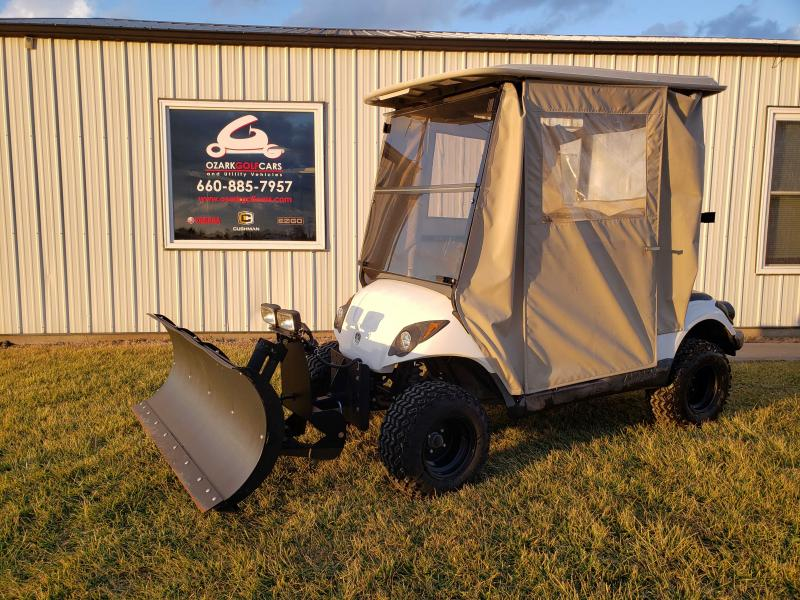 2008 YAMAHA DRIVE PLOW GAS GOLF CAR