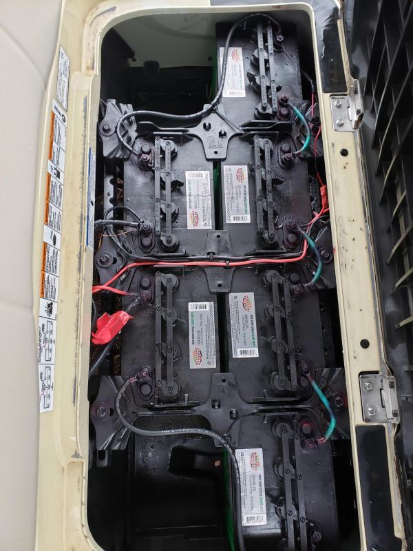 2015 YAMAHA DRIVE-4 PASSENGER-SUNSTONE (ELECTRIC)
