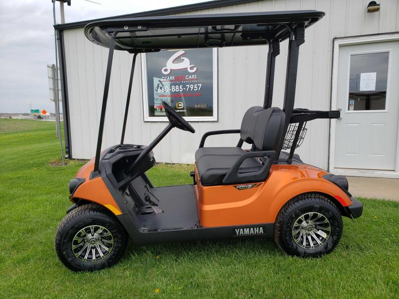 2020 YAMAHA DRIVE 2 QUIETECH PTV-ATOMIC FLAME MATTE Golf Cart