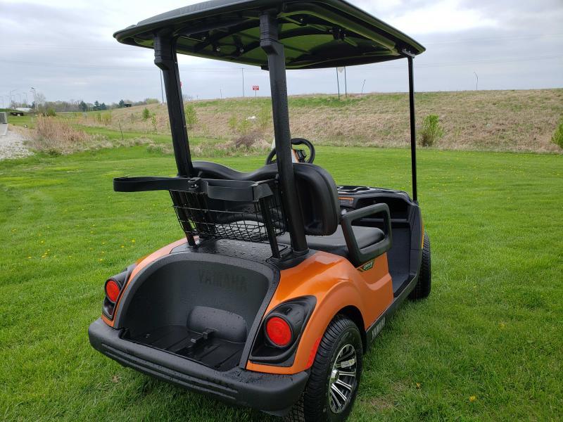 2020 YAMAHA DRIVE 2 QUIETECH PTV-ATOMIC FLAME MATTE Golf Cart