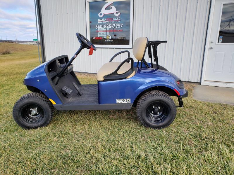 2019 E-Z-GO VALOR-4 PASSENGER ELECTRIC BLUE EFI (GAS)
