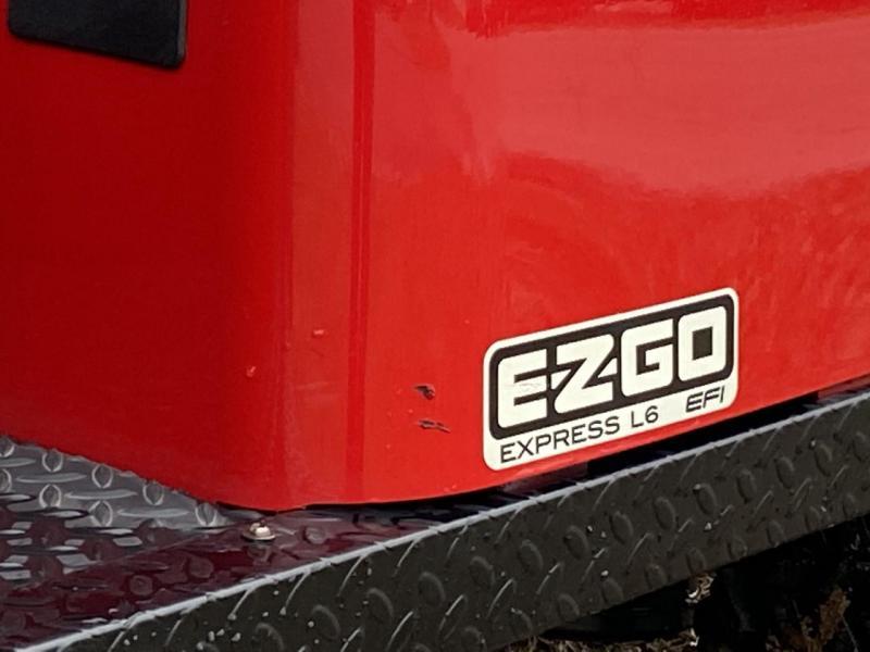 2020 E-Z-GO EXPRESS L6-6 PASSENGER-EFI (GAS) FLAME RED