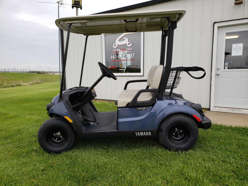 2020 YAMAHA DRIVE 2 QUIETECH PTV-BLUESTONE METALLIC Golf Cart