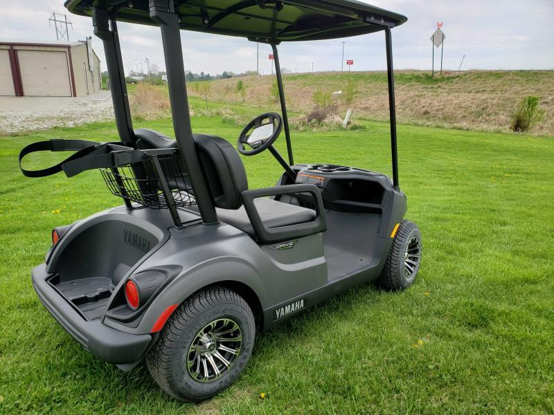 2020 YAMAHA PTV QUIETECH(GAS) EFI-GRAPHITE MATTE Golf Car