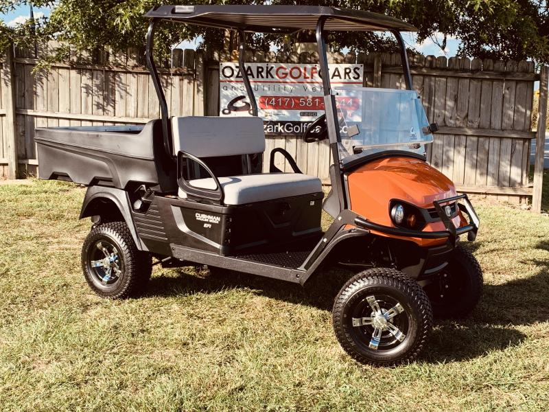 2019 CUSHMAN HAULER 1200X-UTILITY VEHICLE-JACOBSON ORANGE(GAS EFI)