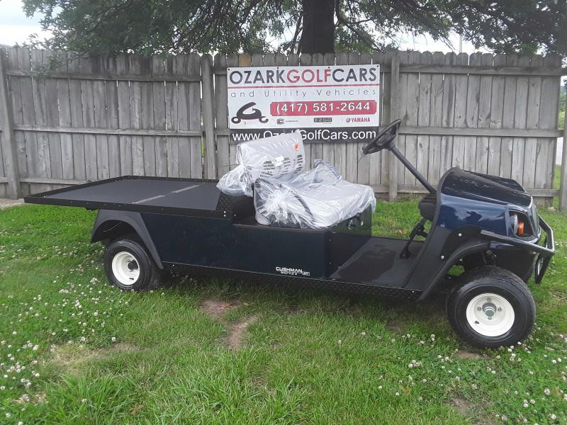 2019 CUSHMAN SHUTTLE 2-PATRIOT BLUE(GAS EFI)