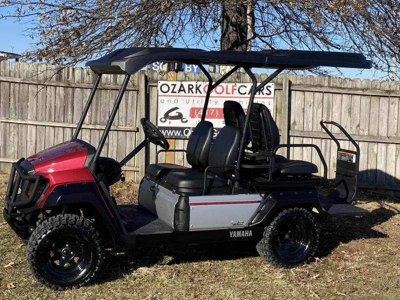 2020 Yamaha UMAX 2 RALLY 2 + 2 (GAS) EFI-JASPER RED Golf Cart