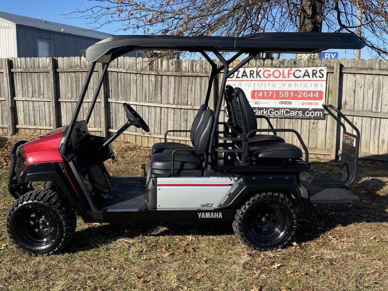 2020 Yamaha UMAX 2 RALLY 2 + 2 (GAS) EFI-JASPER RED Golf Cart